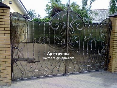 купить Ворота кованые - изделие: 0527