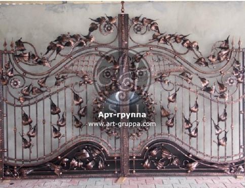 купить Ворота кованые - изделие: 0529