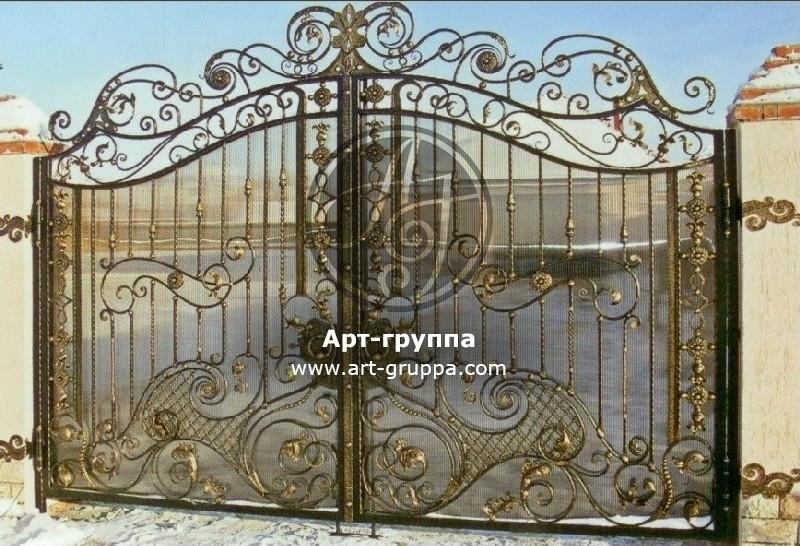 купить Ворота кованые - изделие: 0530