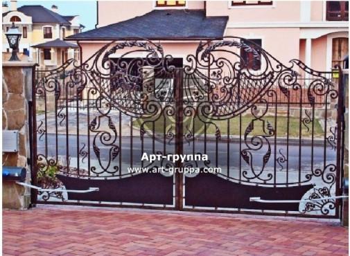 купить Ворота кованые - изделие: 0531