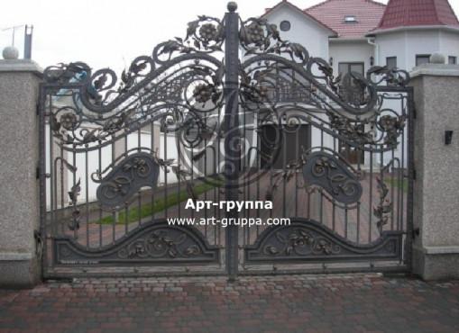 купить Ворота кованые - изделие: 0532