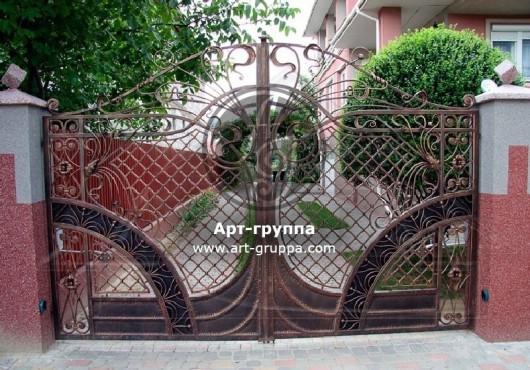 купить Ворота кованые - изделие: 0533