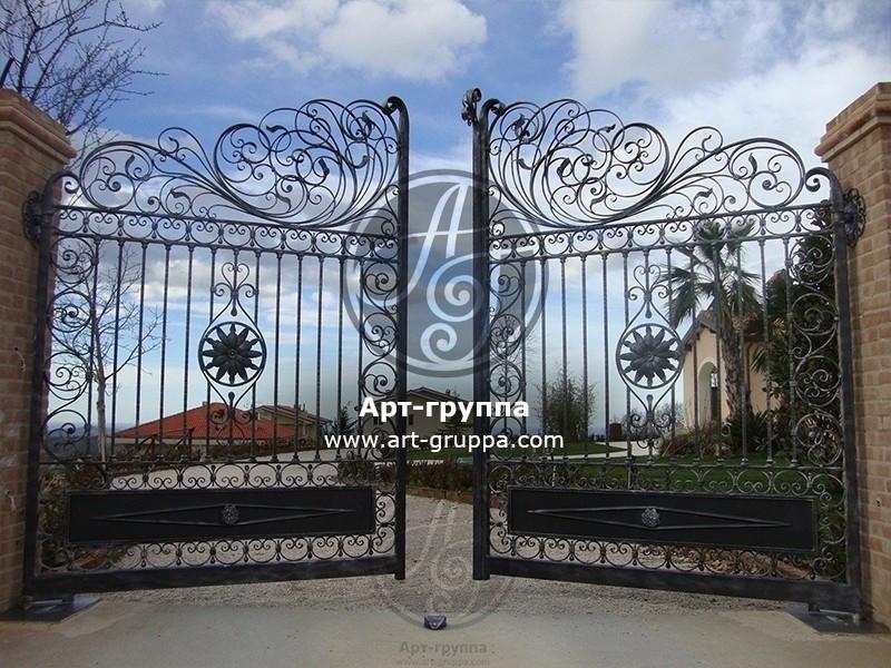 купить Ворота кованые - изделие: 0538