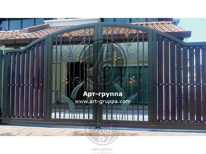 купить Ворота кованые - изделие: 0539