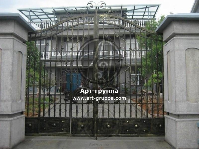 купить Ворота кованые - изделие: 0540