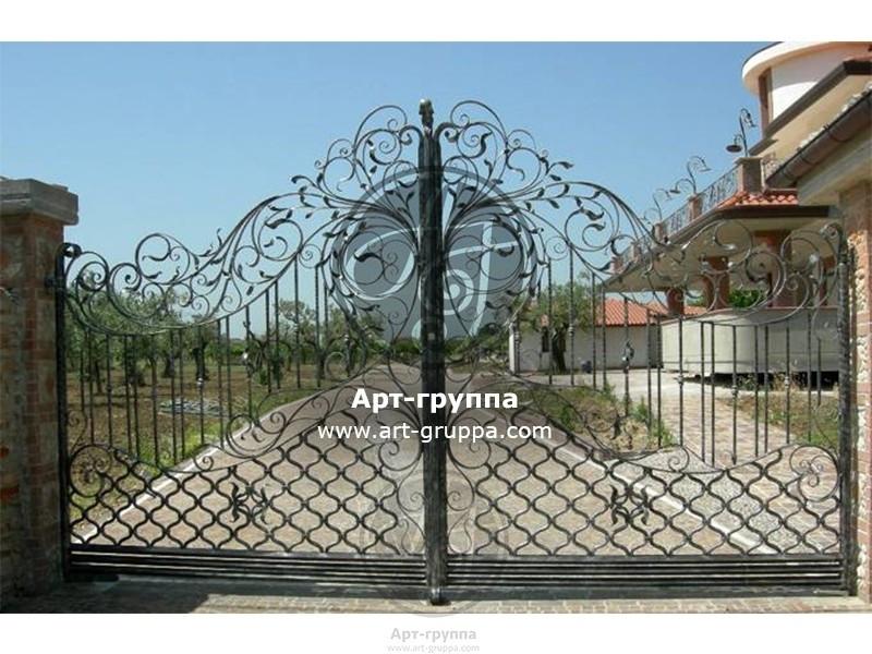 купить Ворота кованые - изделие: 0541