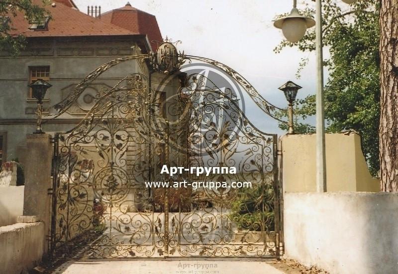 купить Ворота кованые - изделие: 0542