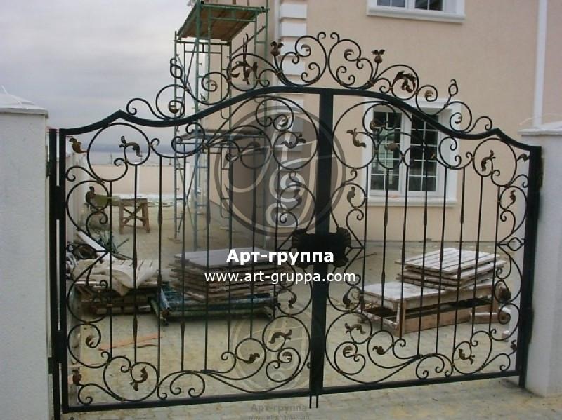купить Ворота кованые - изделие: 0544