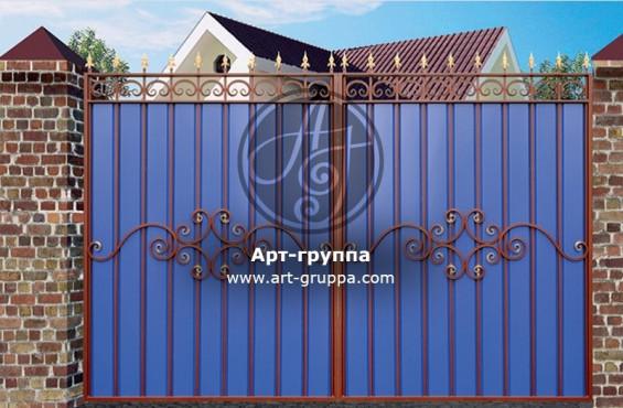 купить Ворота кованые - изделие: 0546