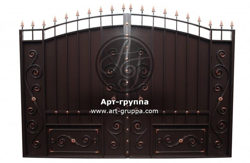 купить Ворота кованые - изделие: 0547