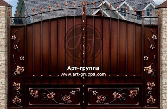 купить Ворота кованые - изделие: 0548