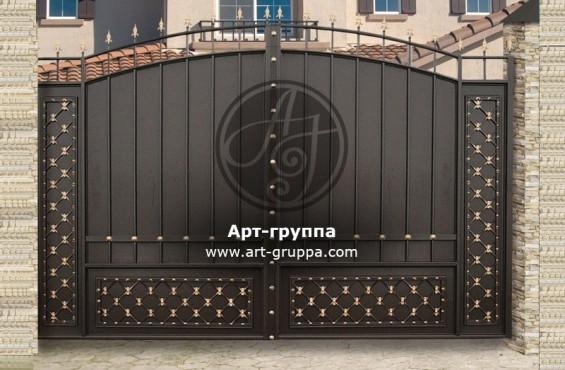 купить Ворота кованые - изделие: 0550