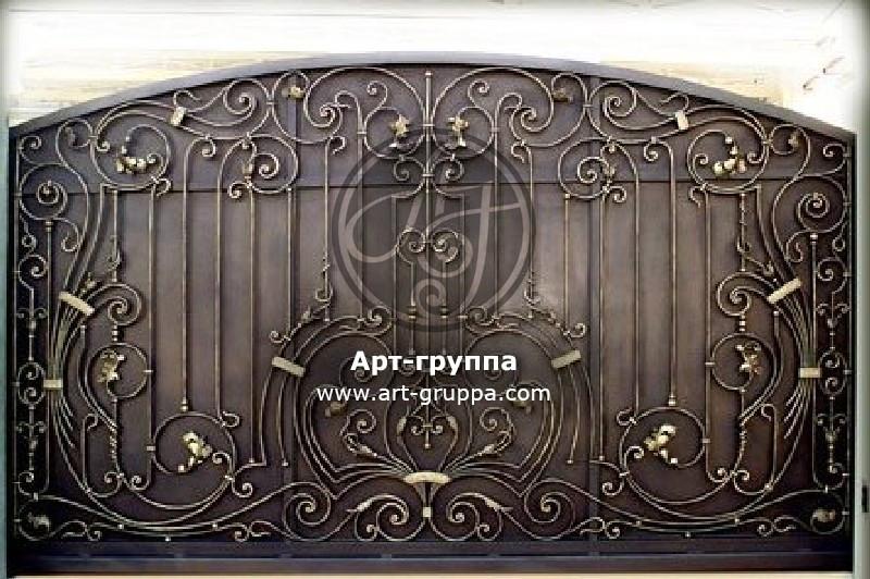 купить Ворота кованые - изделие: 0552