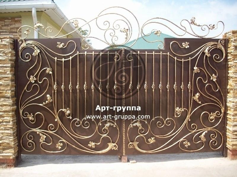 купить Ворота кованые - изделие: 0554