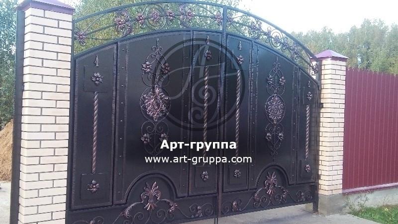 купить Ворота кованые - изделие: 0555
