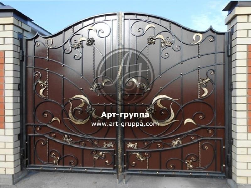 купить Ворота кованые - изделие: 0560