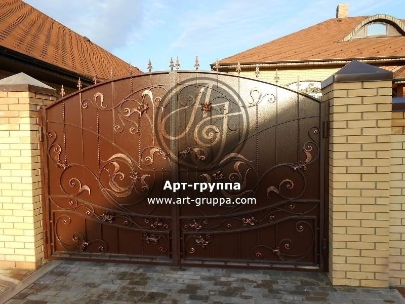 купить Ворота кованые - изделие: 0561