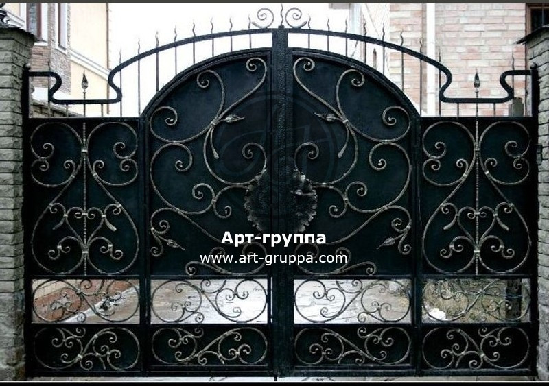 купить Ворота кованые - изделие: 0562