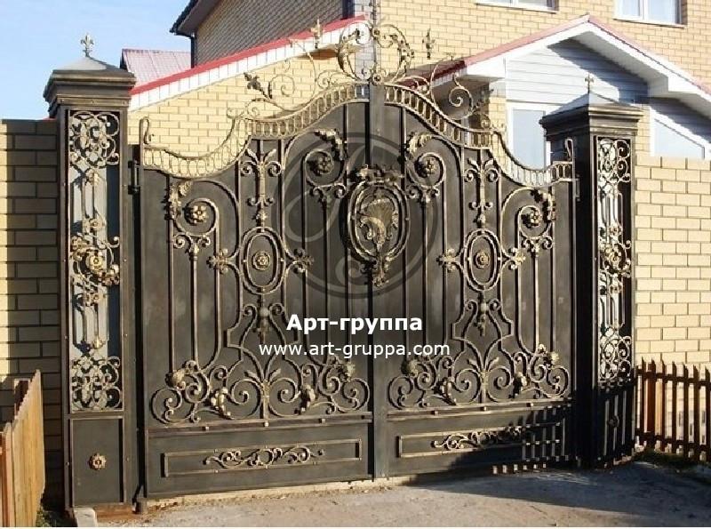 купить Ворота кованые - изделие: 0564