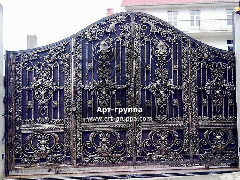купить Ворота кованые - изделие: 0568