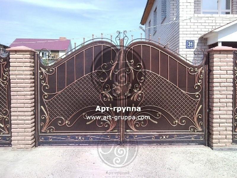 купить Ворота кованые - изделие: 0569