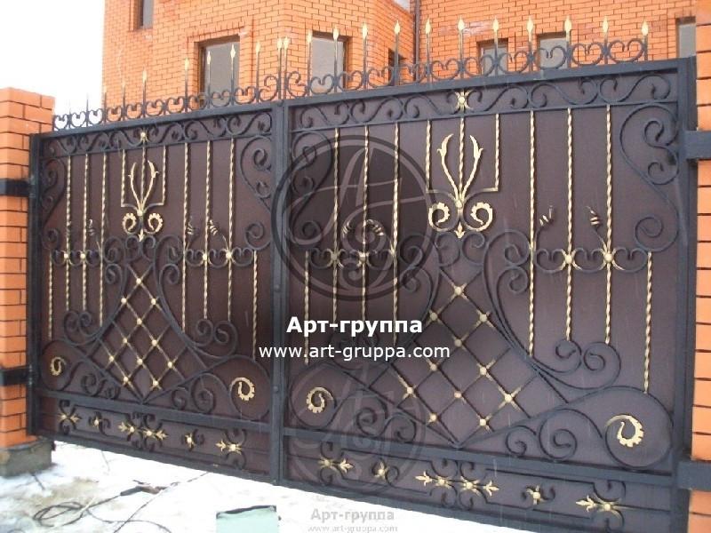 купить Ворота кованые - изделие: 0570