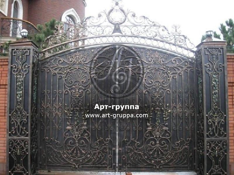 купить Ворота кованые - изделие: 0571