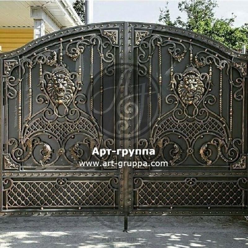 купить Ворота кованые - изделие: 0572