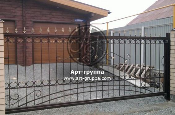 купить Ворота кованые - изделие: 0575