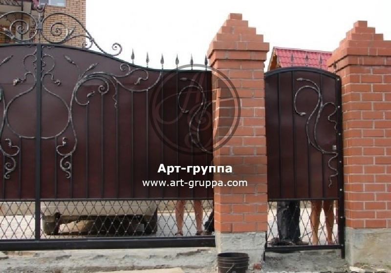 купить Ворота кованые - изделие: 0577