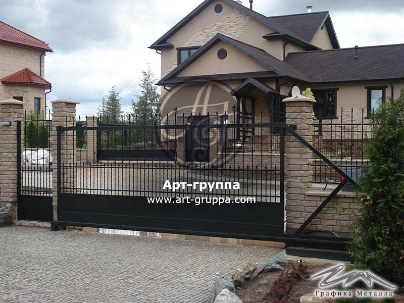 купить Ворота кованые - изделие: 0579