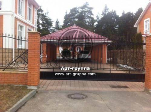 купить Ворота кованые - изделие: 0580