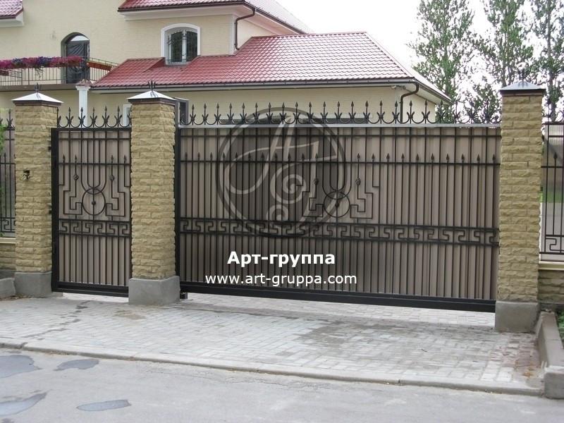 купить Ворота кованые - изделие: 0587