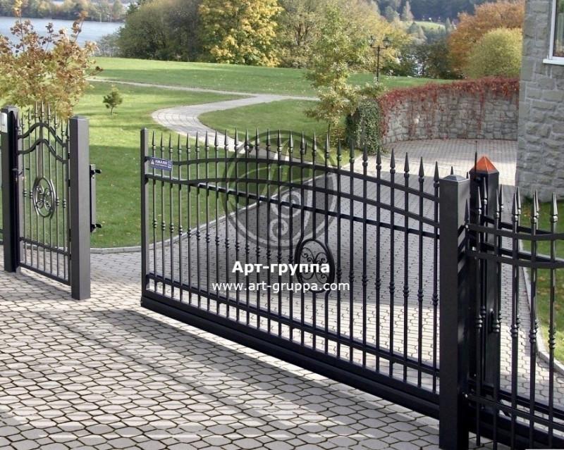 купить Ворота кованые - изделие: 0588