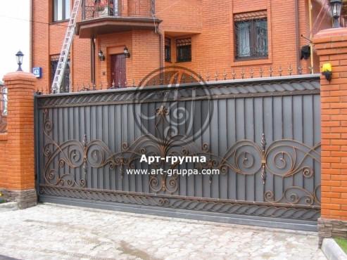 купить Ворота кованые - изделие: 0590