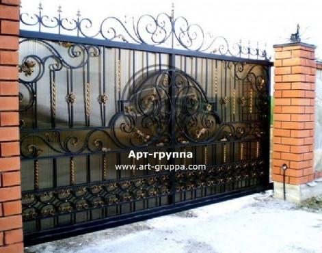 купить Ворота кованые - изделие: 0593