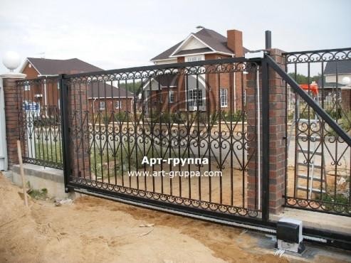 купить Ворота кованые - изделие: 0594