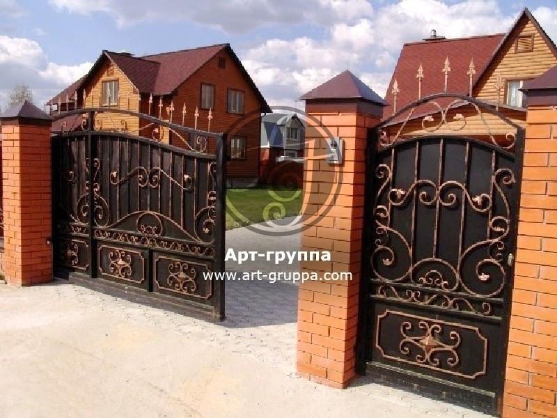 купить Ворота кованые - изделие: 0595