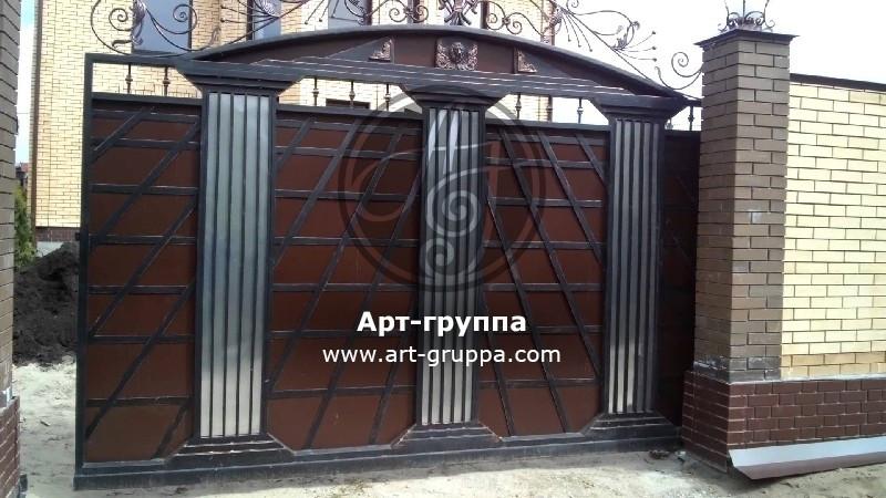 купить Ворота кованые - изделие: 0596