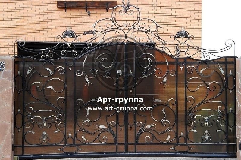 купить Ворота кованые - изделие: 0597
