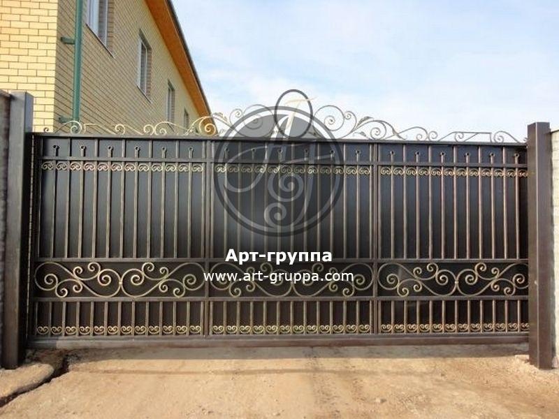 купить Ворота кованые - изделие: 0598