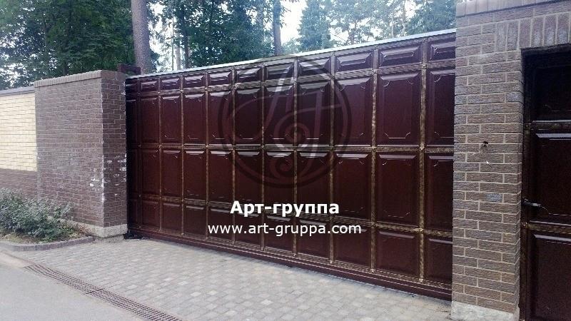 купить Ворота кованые - изделие: 0599