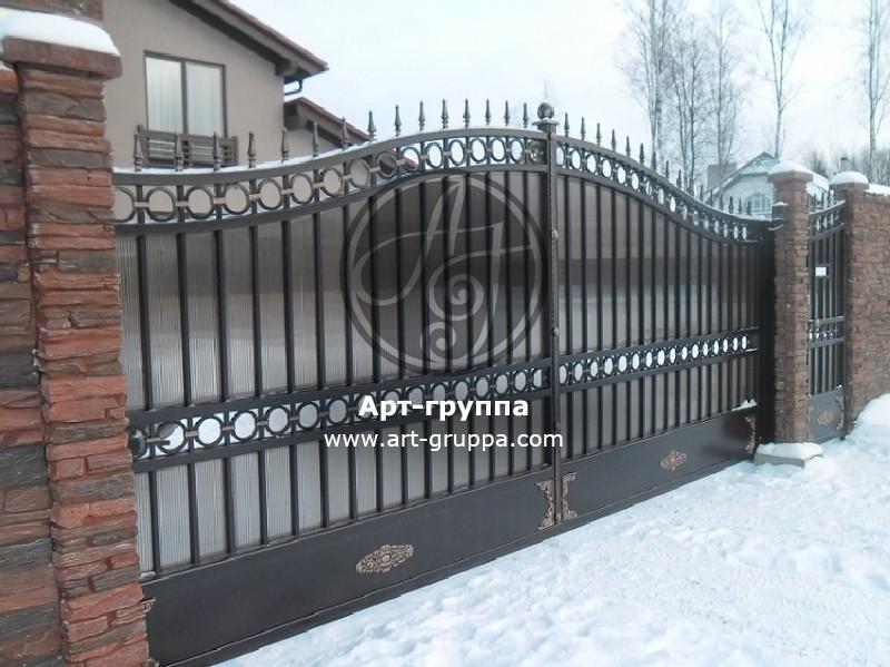 купить Ворота кованые - изделие: 0600