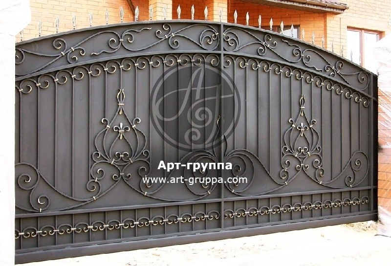 купить Ворота кованые - изделие: 0601