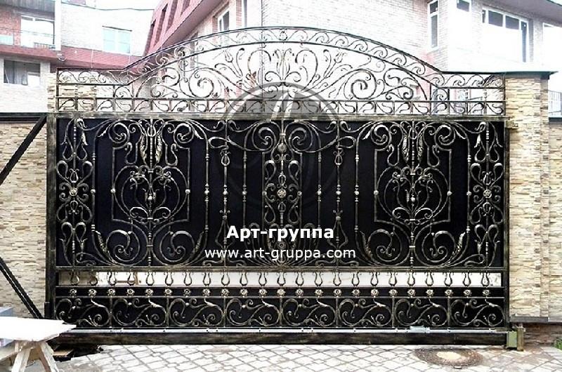 купить Ворота кованые - изделие: 0602