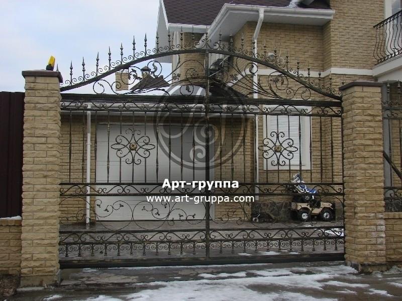 купить Ворота кованые - изделие: 0607