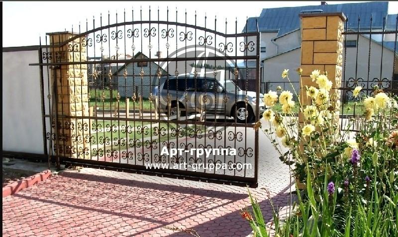 купить Ворота кованые - изделие: 0609