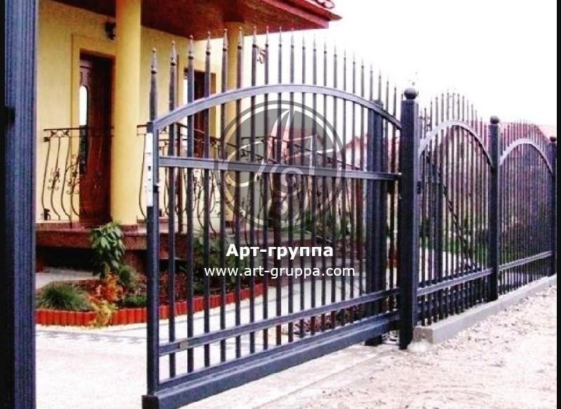купить Ворота кованые - изделие: 0610