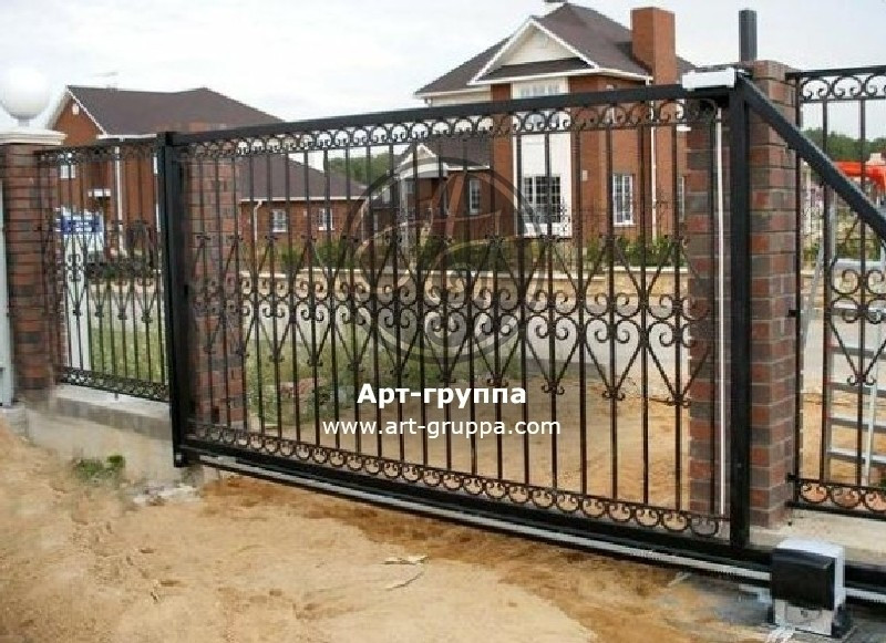 купить Ворота кованые - изделие: 0613