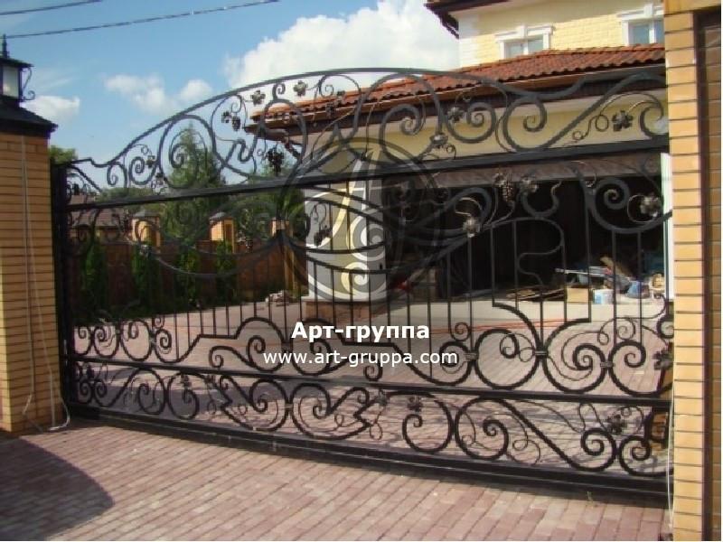 купить Ворота кованые - изделие: 0616